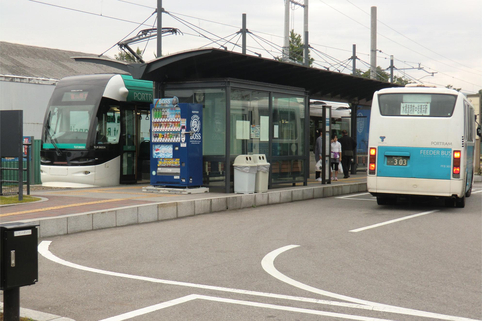 電車と路線バスの連携、ライド&ライドで公共交通の利便性を高めます